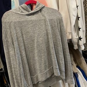 Basic comfy grey hoodie